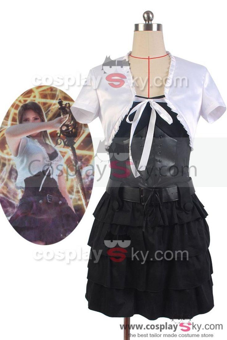 Final Fantasy Stella Nox Fleuret Dress Cosplay Costume