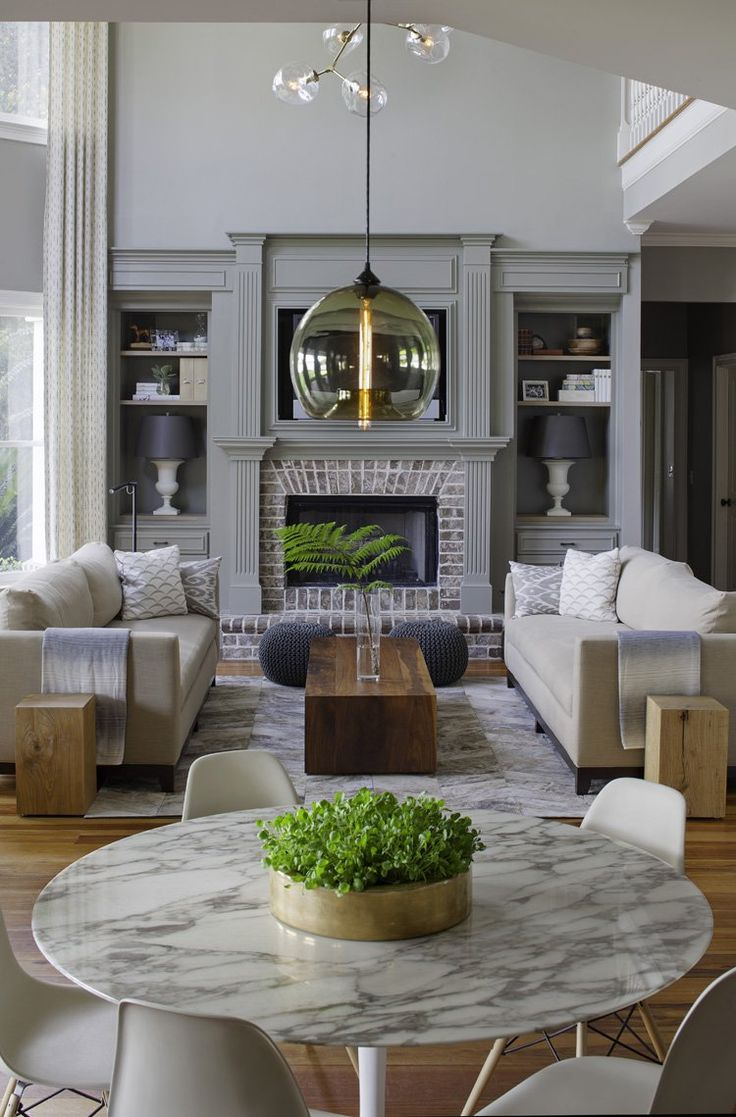 A family home gets a transitional makeover that's ultra-stylish | Stylish,  Living rooms and Room