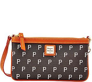 Dooney & Bourke MLB Pirates Large Slim Wristlet