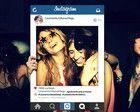 Placa moldura Instagram para casamento
