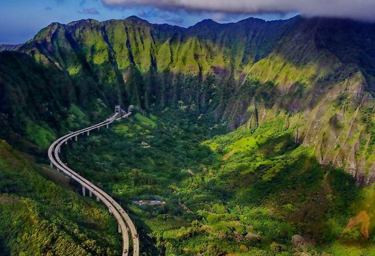 Остров Оаху, Гавайи #отпуск #отдых #туристическийжурнал