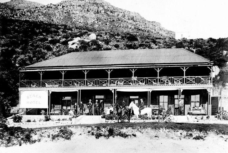 The Beach Hotel, Hout Bay c1900 | Renamed The Chapmans Peak Hotel in 1961