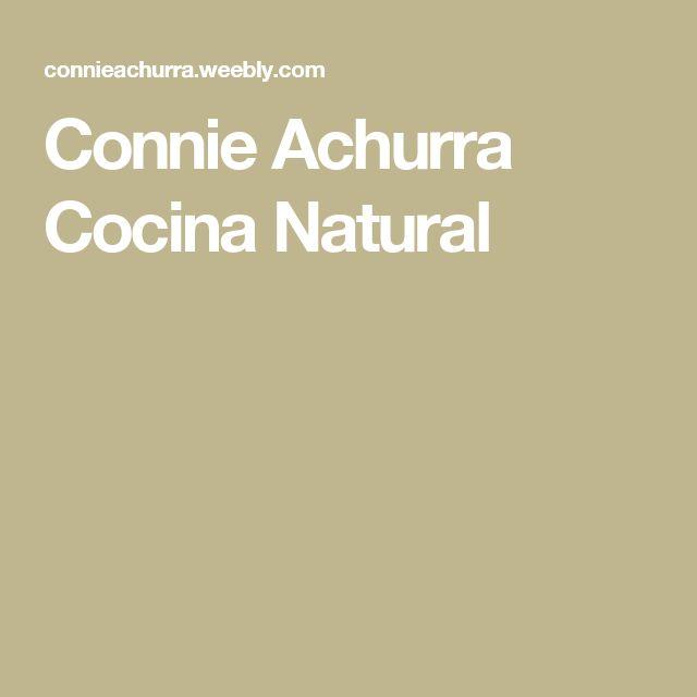 Connie Achurra Clase De Cocina