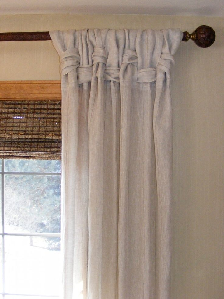 Unique window treatment ideas window treatments unusual for Different styles of drapes