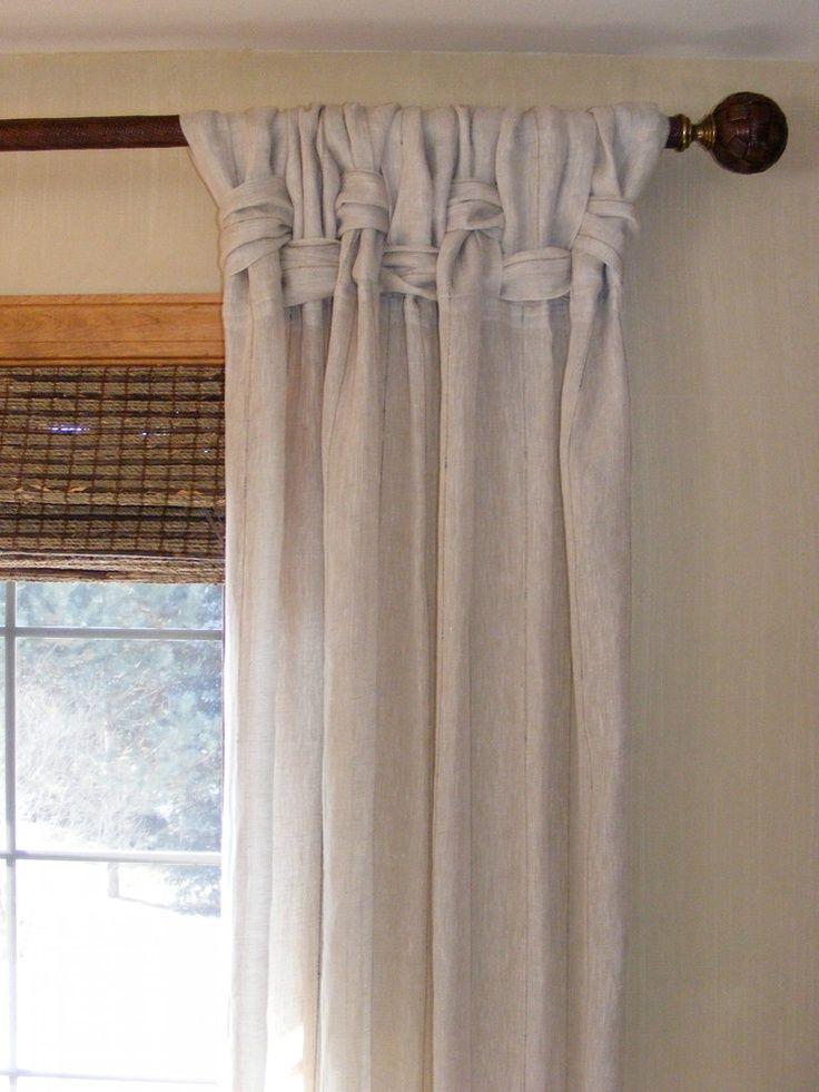 202 Best Curtain Ideas Images On Pinterest