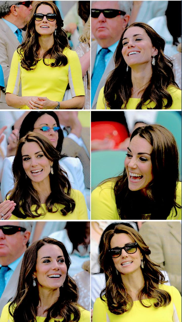 The Duchess of Cambridge at Wimbledon today!
