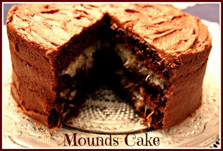 Sweet Tea and Cornbread: Mounds Cake!