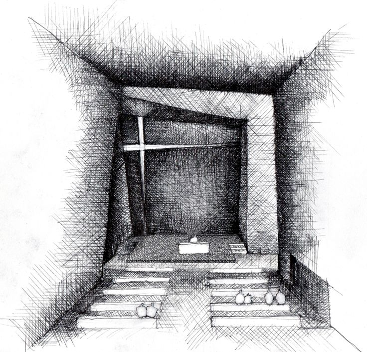 Holy Redeemer Church / Menis Arquitectos: Crosses Window, Interiors Sketch, Architecture Drawings, Meni Arquitecto, Holy Redeemer, Architecture Sketch, Del Santísimo, Sketch Architecture, Redeemer Church