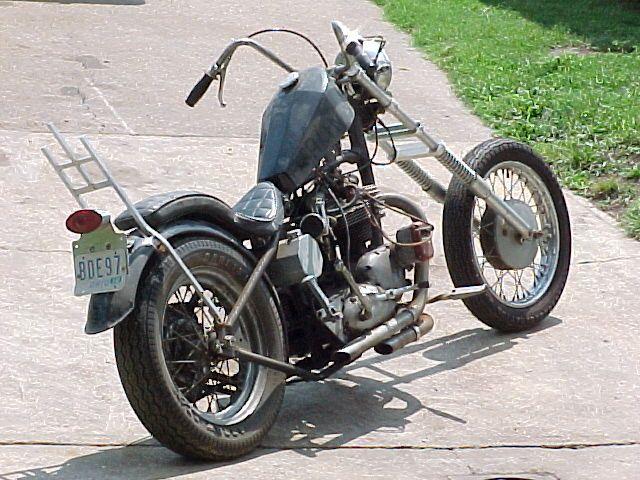 1967 Triumph Chopper