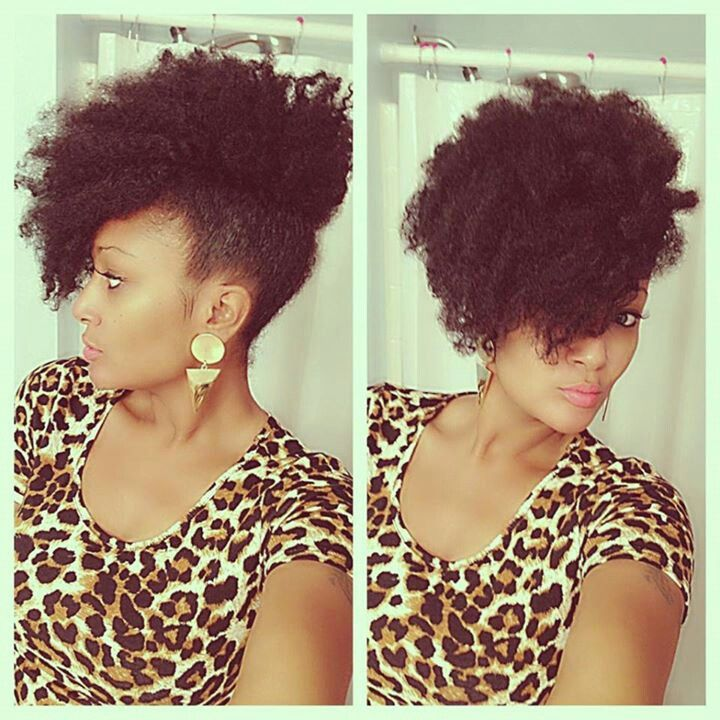 How To Style Hair That Naturally Grows As A Fro