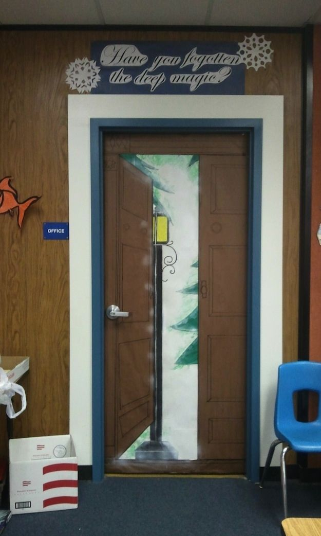 Winter Wonderland Classroom Door Decorations ~ Images about narnia display on pinterest