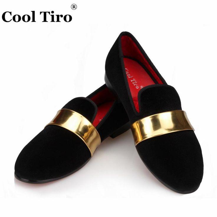 Velvet Loafers Mens Slippers Moccasins Men's Dress Shoes Wedding party – myshoponline.com