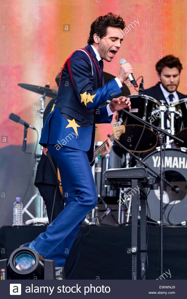 Mika 2015 British Summertime festival in Hyde Park