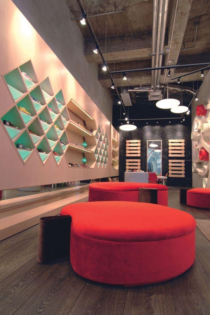 Apple Pie Children Shoe Boutique, Hong Kong by Stefano Tordiglione Design