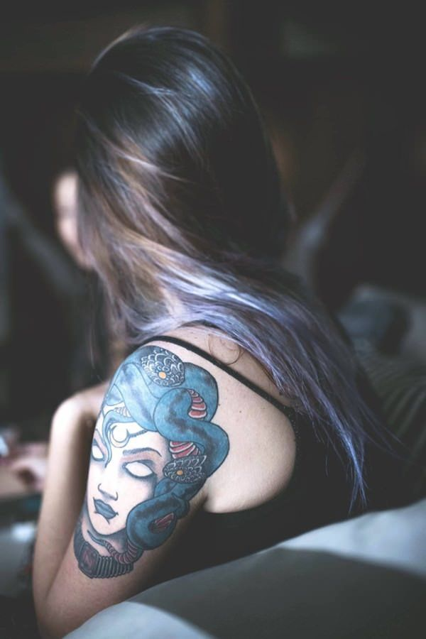 Medusa Tattoos Designs and Meanings