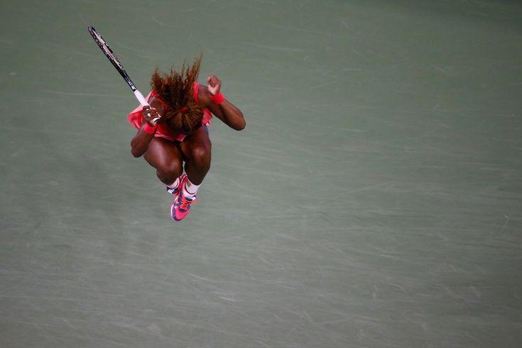IlPost - Serena Williams festeggia la vittoria (Joe Scarnici/Getty Images) - Serena Williams festeggia la vittoria (Joe Scarnici/Getty Images)