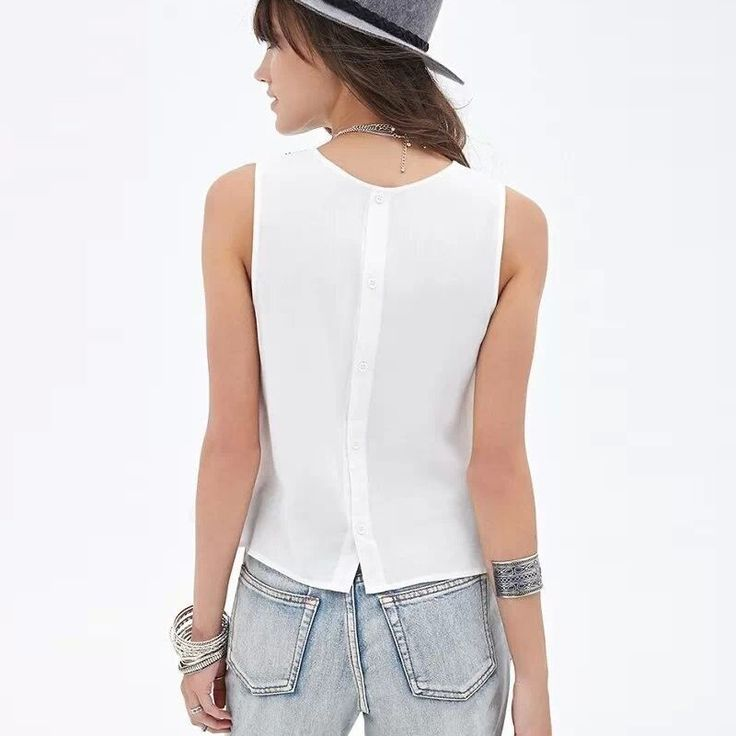 2016 New Fashion Ladies' elegant Embroidery short crop blouses back button vintage O neck sleeveless shirt casual slim brand top