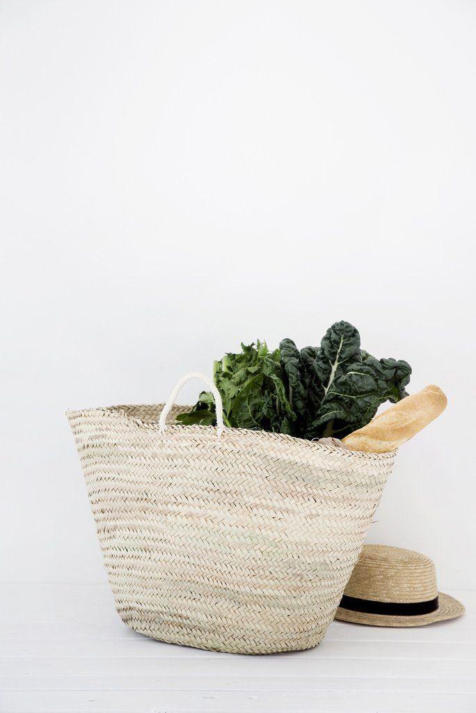 Handmade Market Baskets : Best ideas about market baskets on beach