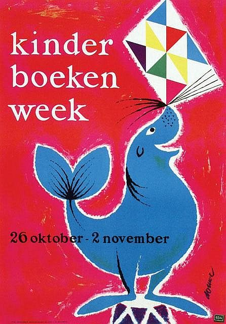 Gerard Douwe (1914-) – Kinder boeken week (1960)