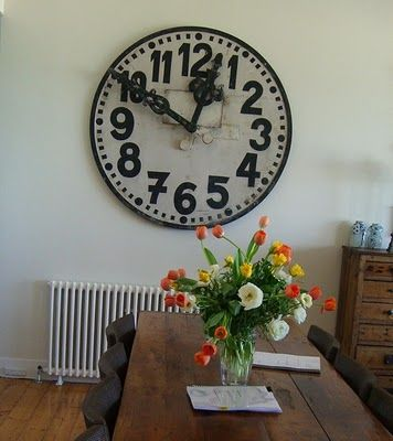 from modern country style blog modern country loves big wall clocks