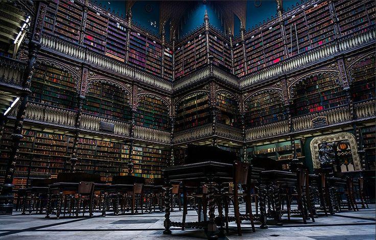 As 15 bibliotecas mais incríveis do mundo – O Brasil tem uma delas!