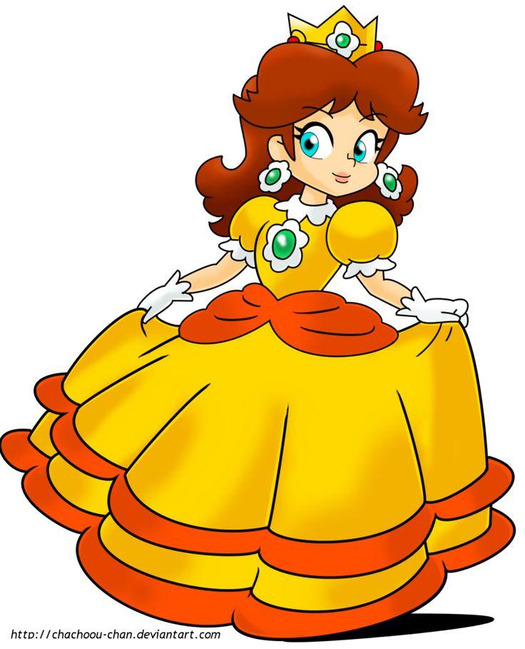 Princess Daisy by ChaChoou-Chan on DeviantArt