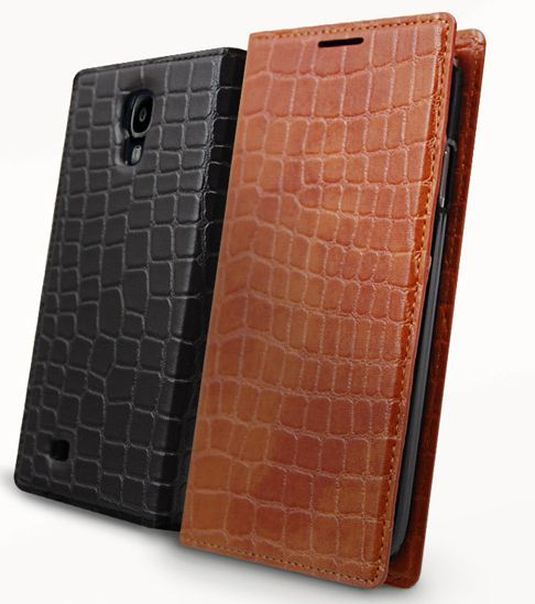 Gavialis Crocodile Flip Diary Case for Galaxy Grand 2