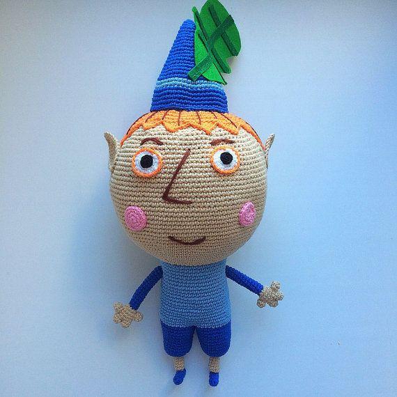 Crochet pattern Elf Ben by Amigurushki on Etsy