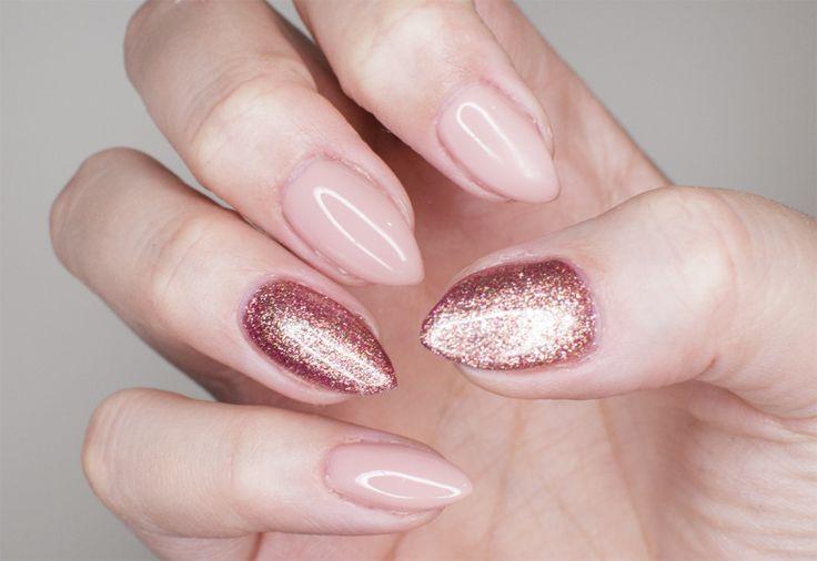 semilac pink gold creamy muffin3