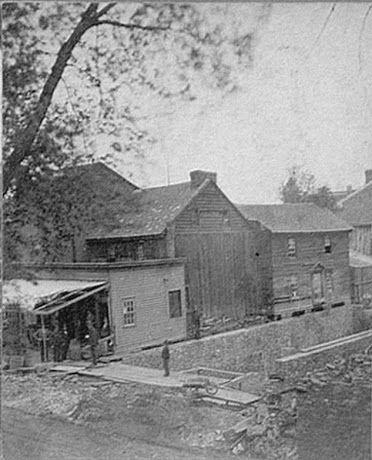 Old Fell House Tavern Site. E Northampton St. and S Washington St., Wilkes-Barre, PA, 18701
