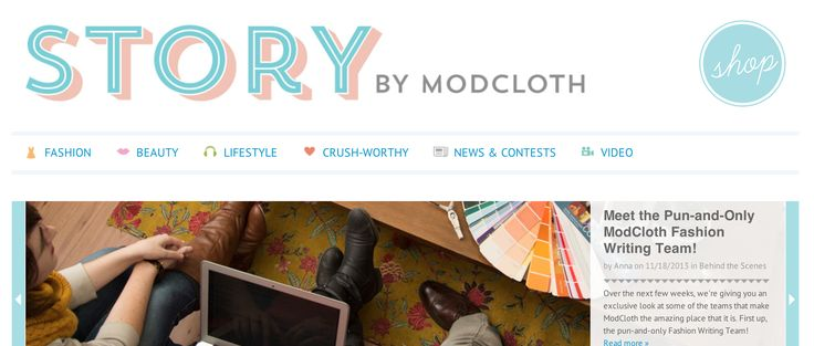 Great analysis of ModCloth. The anatomy of an inbound ecommerce website.