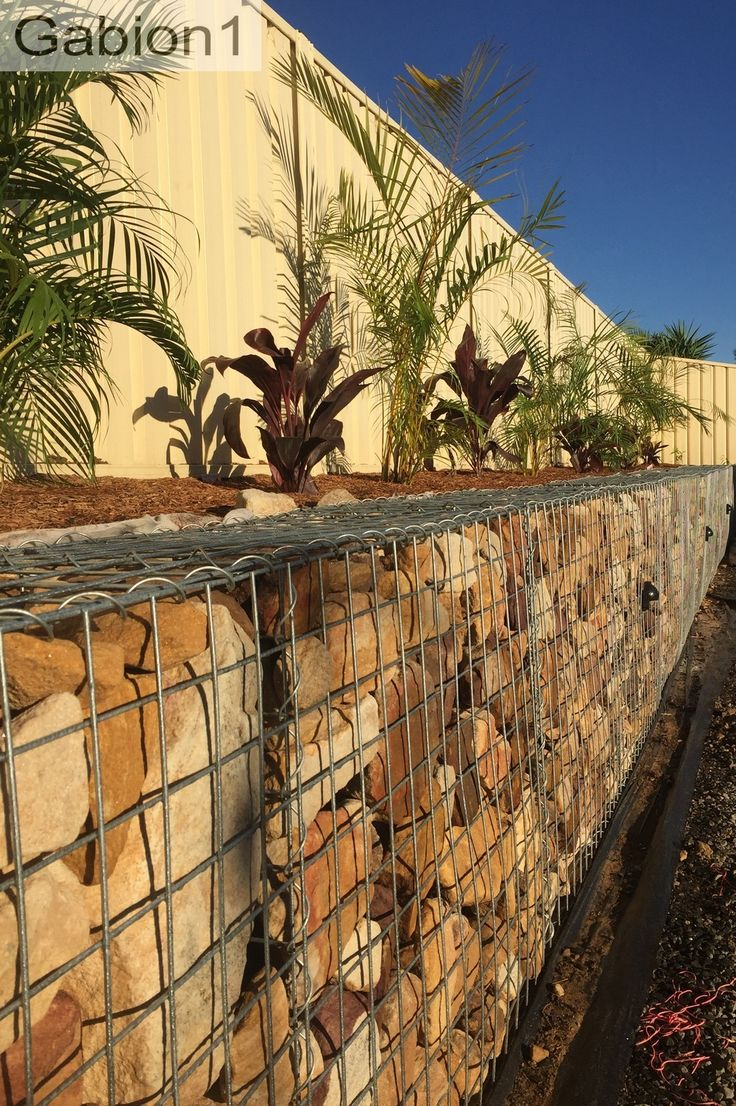 small gabion retaining wall http://www.gabion1.com.au