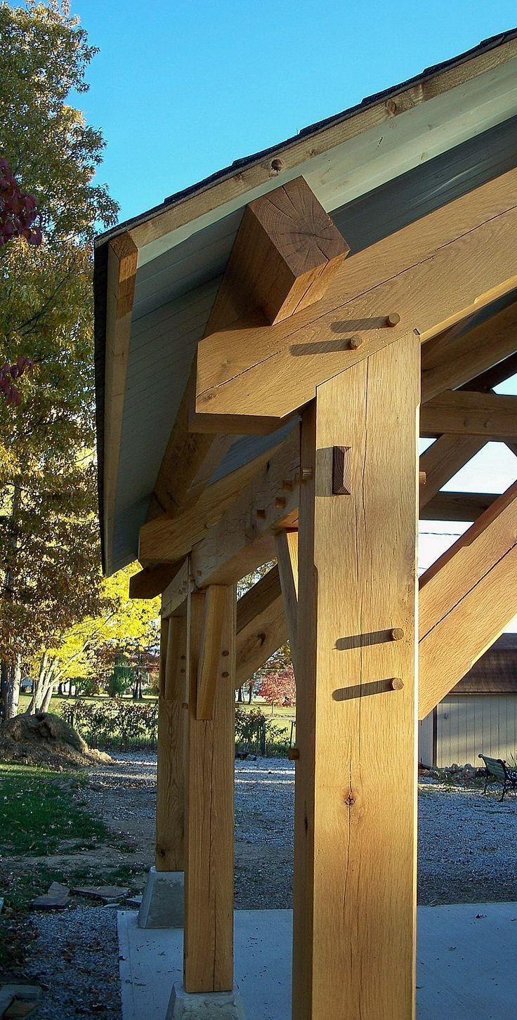 Timber Frame Outdoor Living – Gehöft Holzrahmen – Crossville Tennessee …
