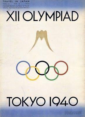 Tokyo Olimpic 1940 東京オリンピック
