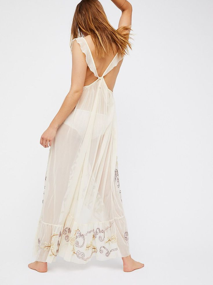 Strawberry Moon Maxi Slip from Free People!