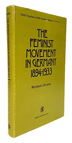 Feminist Movement in Germany H (SSTCH) SAGE Publications