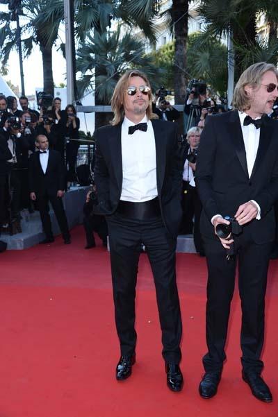 Brad Pitt Wearing Balenciaga For The Killing Them Softly Premiere