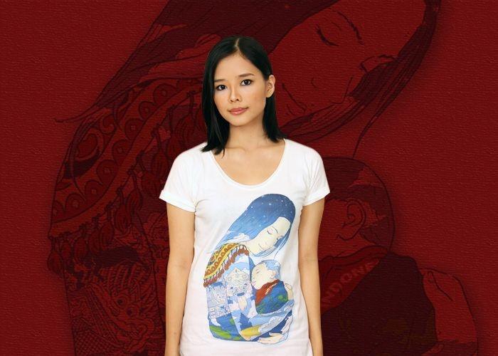 Ibu Pertiwi  #gantibaju.com #tee #ibupertiwi #design #indonesian