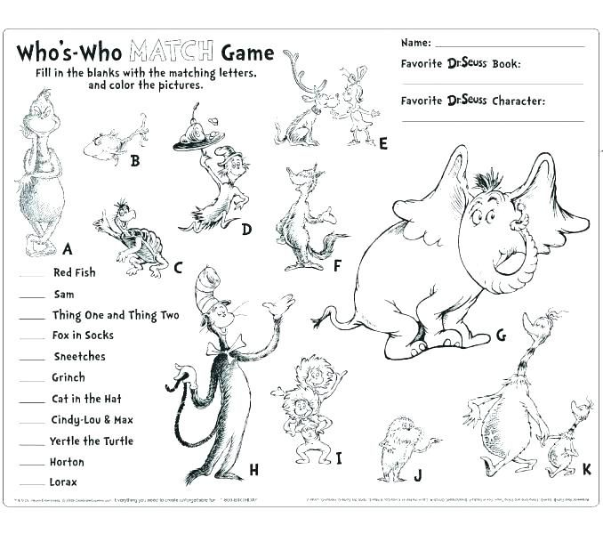 Horton Hears A Who Characters Coloring Pages Free Coloring Pages