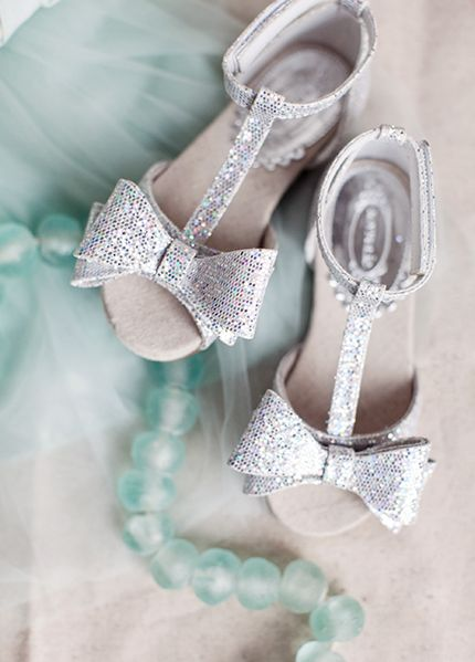 Joyfolie's Naomi shoes in a shimmering silver. Little Miss Ava would love these.