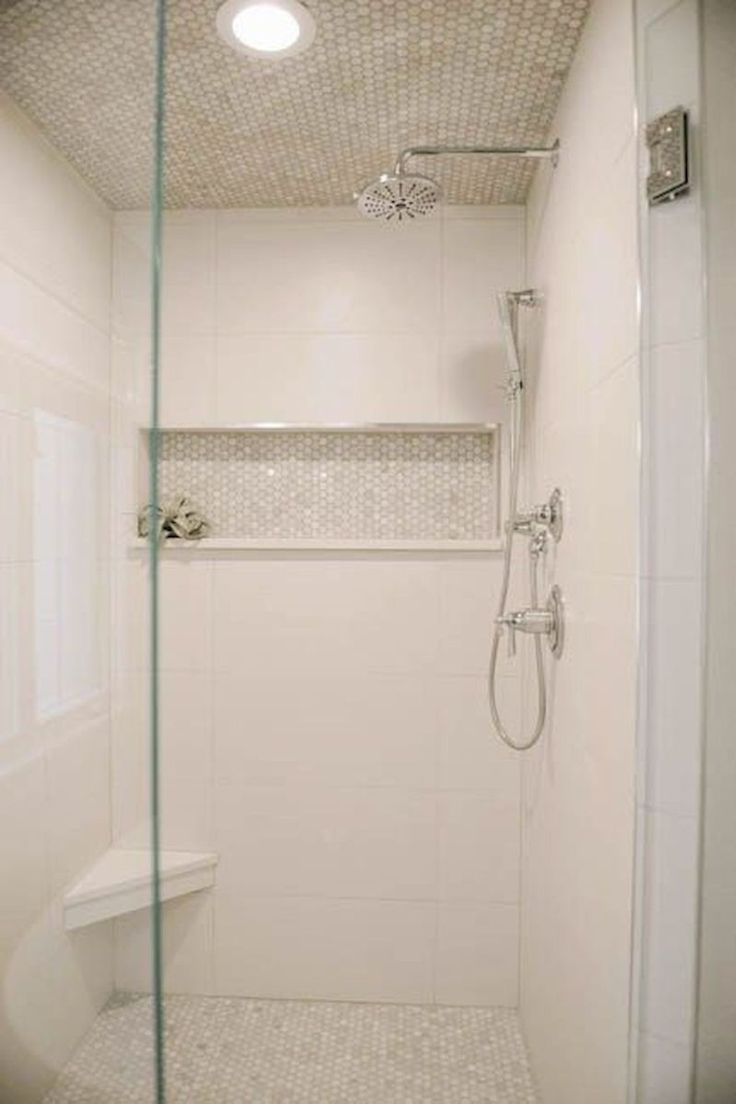 80 stunning tile shower designs ideas for bathroom remodel (56