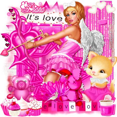 "Scraps N Company: AD CT TEAM, ""Cupid in Pink"""