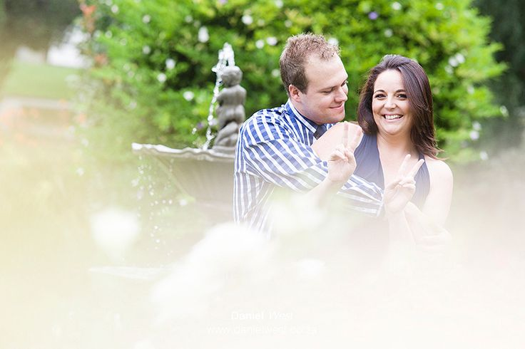 Jacques and Caroline   Johannesburg Country club   Engagement shoot