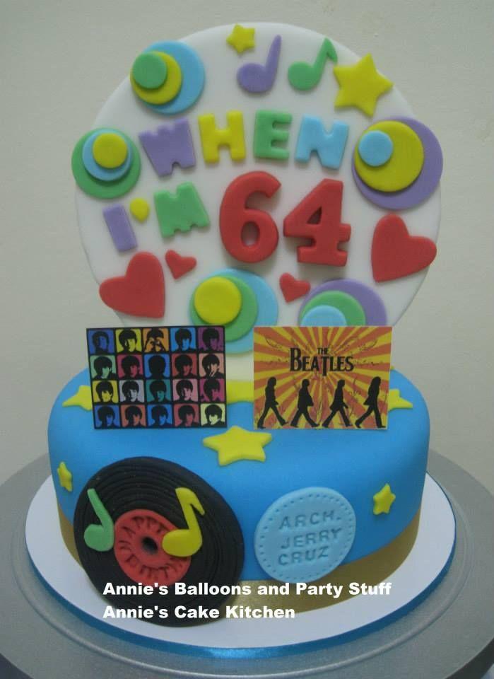Beatles theme cake! : )