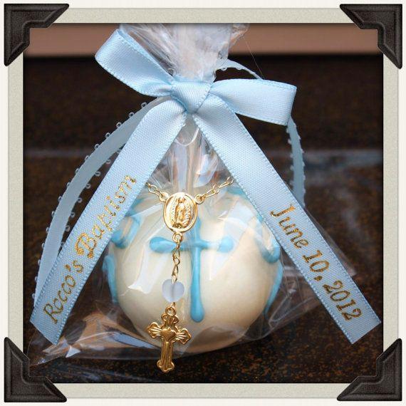 Elegant Baptism Cake Pops by CakePopMamma on Etsy, $36.00