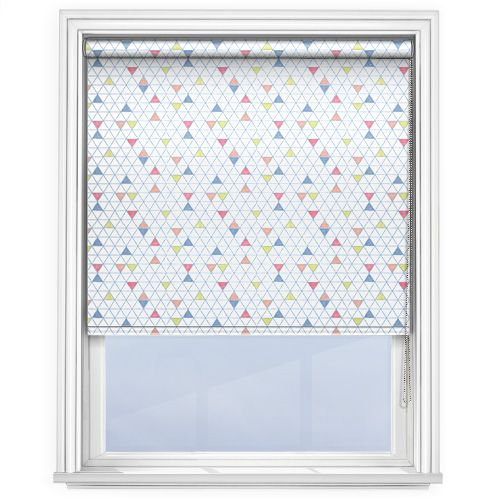 Railux Oslo Blue Blue Roller Blinds Fabric Blinds Curtains
