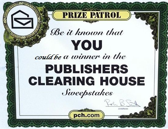 publishers clearing house giveaway be it known that alexander henderson is a winner in the 4030