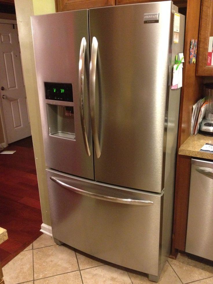 Frigidaire Gallery Refrigerator Reviews Stainless Steel Design