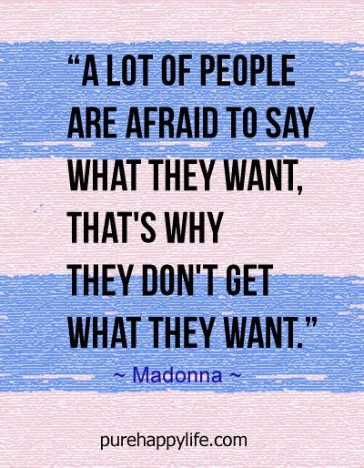 #quotes - A lot of people are afraid...more on purehappylife.com