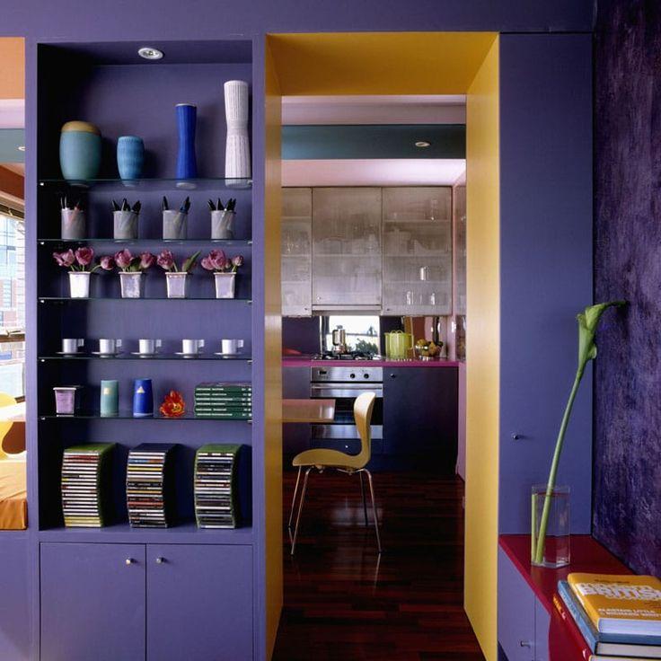 Innendekoration Farbe Wnde. Wandgestaltung Mit Farben-Ideen-Gold